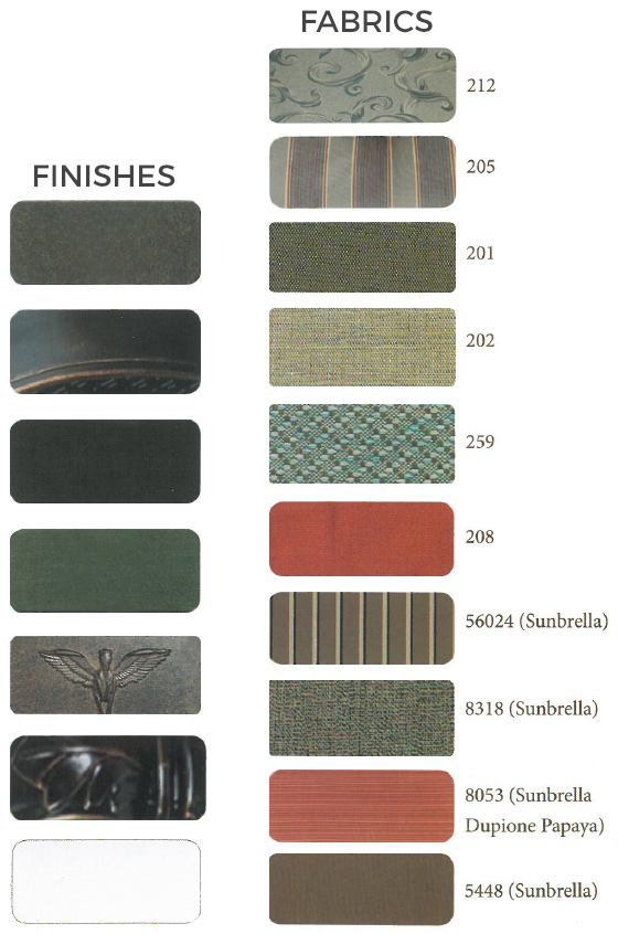 Finishes and Fabrics